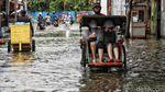 Banjir Rendam Permukiman di Kapuk Muara