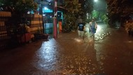 Hujan Deras, Perumahan Puri Kartika Ciledug Tergenang