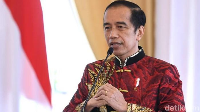 Presiden Jokowi di Perayaan Imlek Nasional 2021