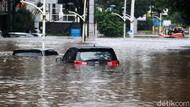 Potret Banjir Besar Jakarta di Awal 2021