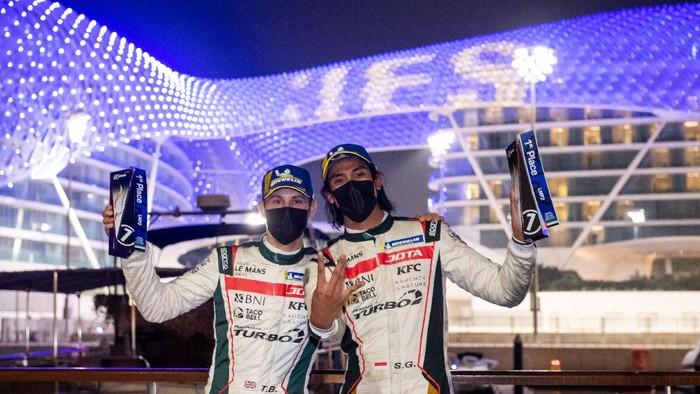 Sean Gelael menangi seri ketiga Asian Le Mans Series di Yas Marina, Abu Dhabi, Jumat (19/2/2021) malam WIB