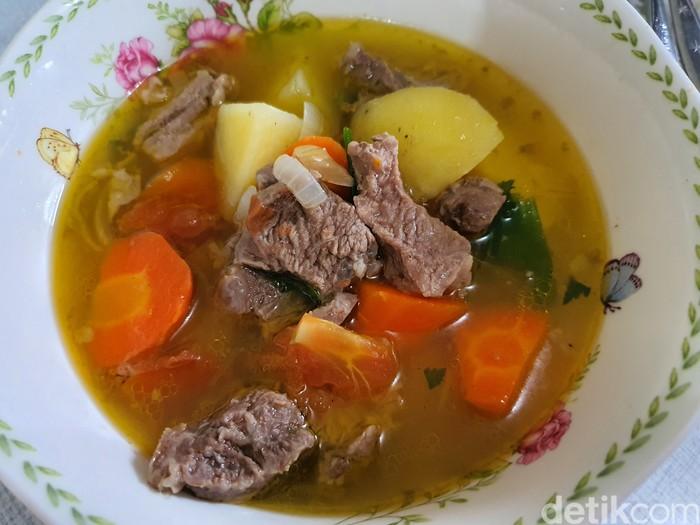 Sop Daging Kuah Bening ala Jawa
