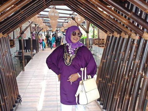 Sosok ibunda Riwdan Jacod,  Nurhayati atau biasa disapa Oma Salwa.