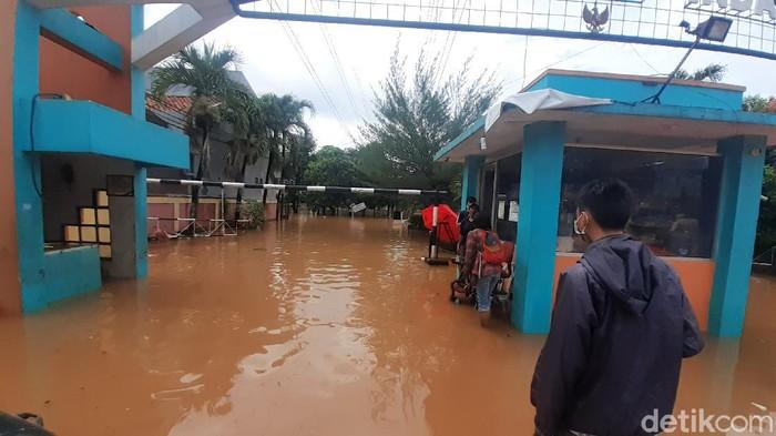 Banjir di Bumi Nasio Indah Bekasi