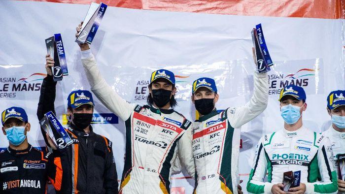 Sean Gelael menangi race keempat Asian Le Mans Series, Sabtu (20/2/2021)