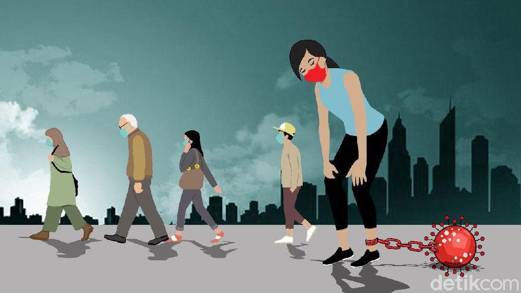 Amit-amit, RI Jangan Sampai Diterjang Tsunami COVID-19 Seperti India