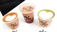 Slurpp! Mencicipi Caffe Latte hingga Matcha Latte Buatan % Arabica
