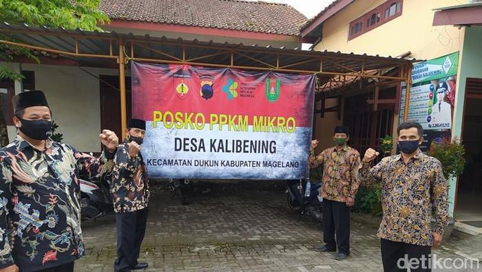 Desa Kalibening Magelang yang jadi percontohan PPKM mikro nasional. Desa di lereng Merapi ini punya fasilitas isolasi mandiri di tingkat desa.
