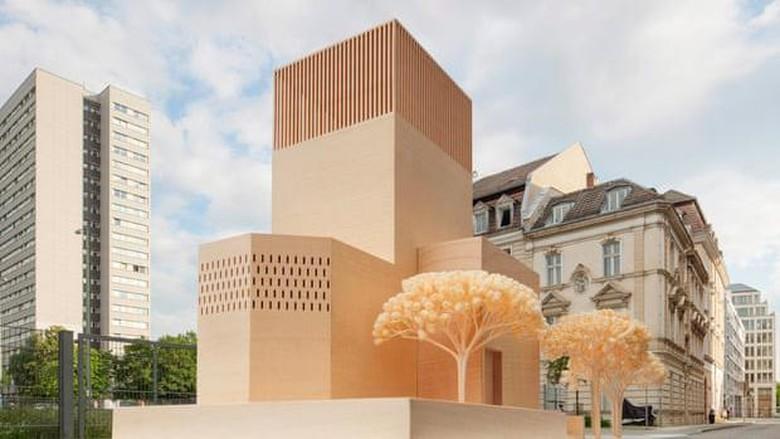 Desain rumah ibadah tiga agama di Jerman.