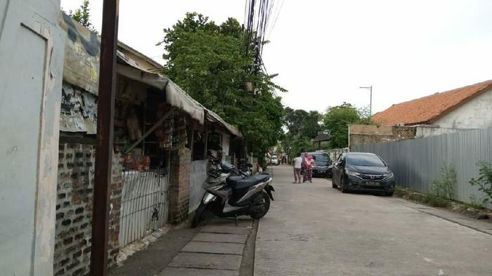 Jalan Nipah, RW 07, Petogogan, Kebayoran Baru, Jakarta Selatan yang Sempat Terdampak Banjir Kemarin