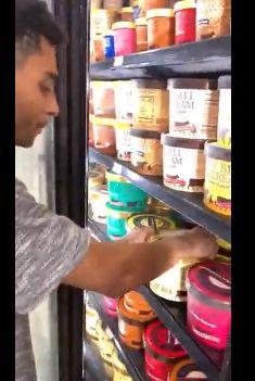 Di Amerika Jilat Es Krim dan Kembalikan ke Freezer Supermarket akan Dipenjara