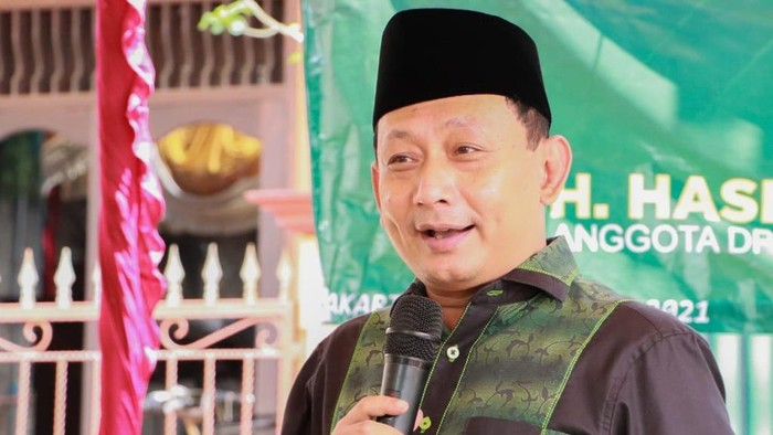 Ketua Fraksi PKB-PPP DPRD DKI Jakarta Hasbiallah Ilyas