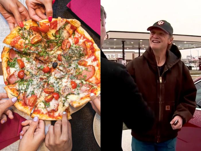 Antarkan Pizza, Kurir Ini Dapat Tip Berupa Mobil Baru