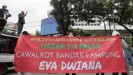 Massa LSM Infosos Lampung Geruduk Kemendagri