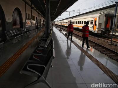 Mudik Dilarang, Okupansi Kereta Api Daop 2 Bandung Cuma 8%