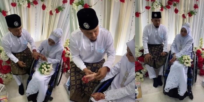 Pernikahan Najihah dan Irfan
