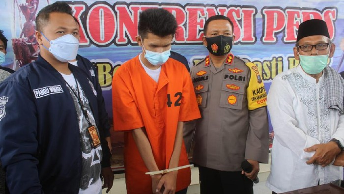 Pria di Sumut diduga lakukan penistaan gegara cintanya ditolak (Ahmad Arfah/detikcom)
