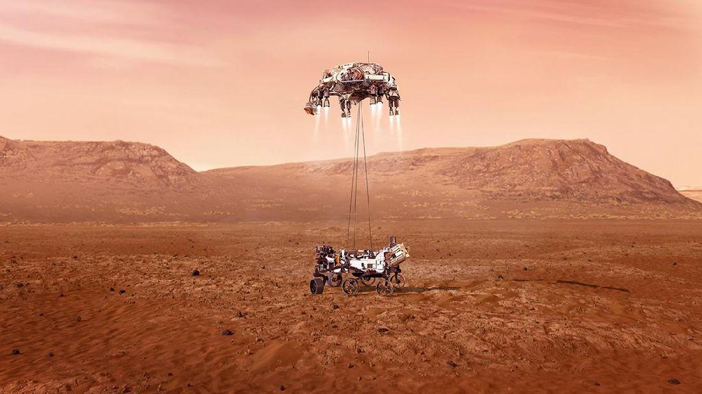 Robot NASA di Mars Ternyata Pakai Prosesor Jadul