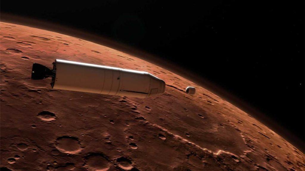 Foto Aksi Rover NASA Menjelajah Planet Mars