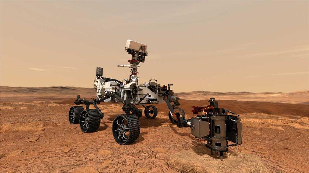 Perseverance NASA yang Siap Panen Sampel Batuan di Mars