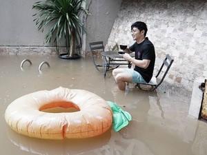 Begini Kondisi Rumah 6 Artis Indonesia yang Jadi Korban Banjir Jakarta