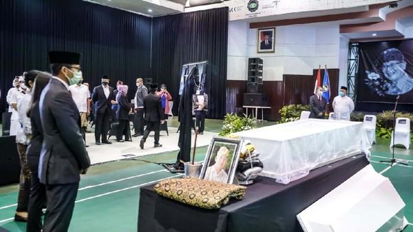 I Gede mangkat di RS Borromeus Bandung pada Sabtu (22/1/2021). (Menparekraf)