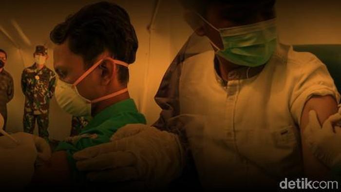 Ilustrasi sanksi penolak vaksin