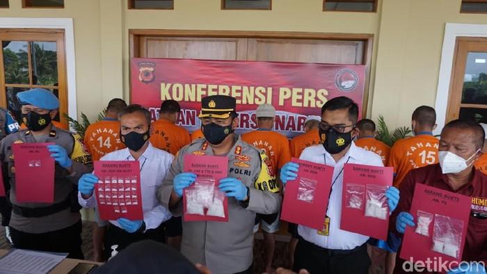 Sembilan bandar narkoba jaringan lapas di Cianjur diamankan polisi