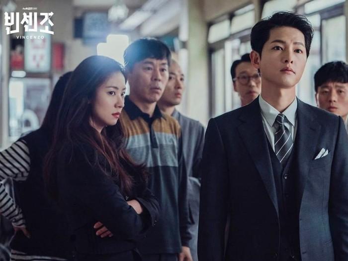 Song Joong Ki dalam drama Korea Vincenzo