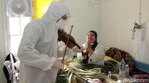 Alunan Biola Jadi Cara Dokter di Tunisia Hibur Pasien COVID-19