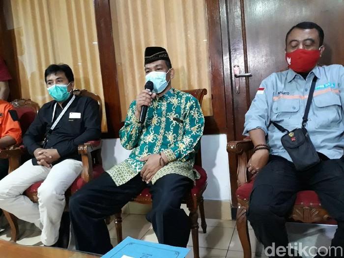Anggota DPRD Bantul Supriyono minta maaf, Selasa (23/2/2021).