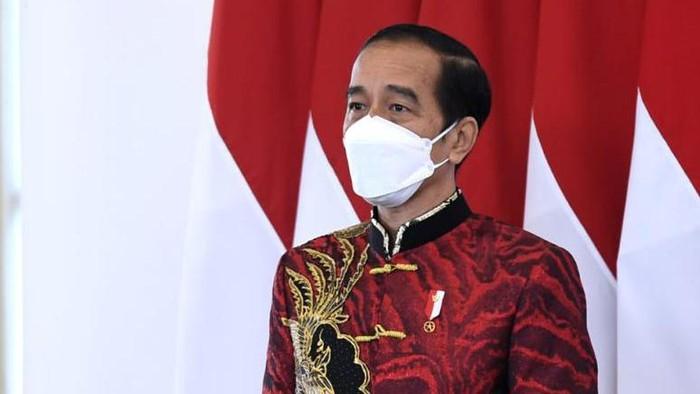 Baju Imlek Jokowi 2021 Karya Anne Avantie
