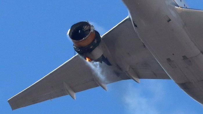 Boeing 777 di seluruh dunia diminta dilarang terbang setelah insiden mesin rusak di Denver, Garuda: Kita aman