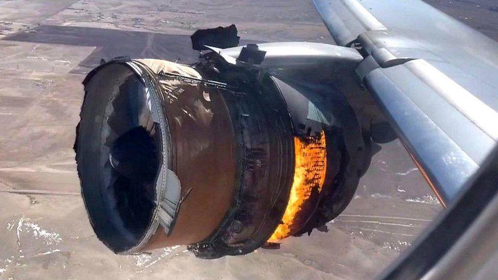 Penyelidik Temukan Tanda Mesin Boeing 777 Alami Kejenuhan Logam di Denver