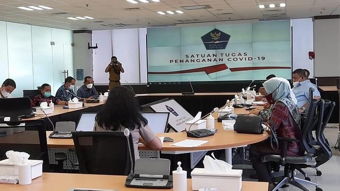 DPRD Sumbar mendatangi BNPB untuk melaporkan dugaan penyimpangan dana penanganan COVID-19 di Sumbar sebesar Rp 150 miliar (dok DPRD Sumbar)