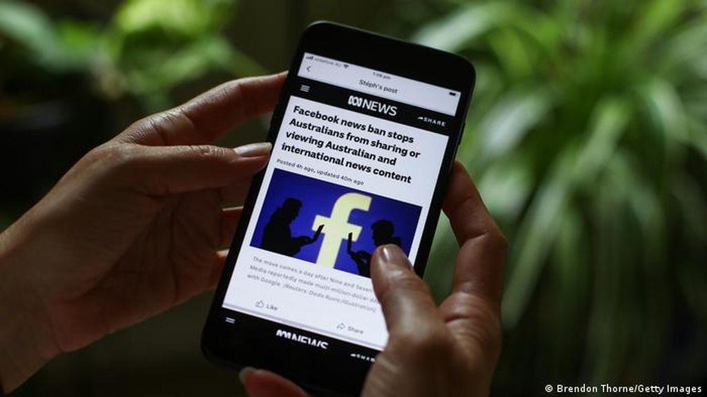 Facebook Akan Kembali Buka Situs Berita Australia yang Diblokir