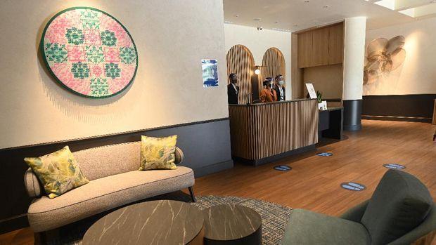 Hotel Connect@Changi untuk pebisnis di Singapura