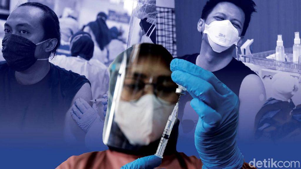 Catat! Lansia di Banten yang Butuh Vaksinasi Bisa Hubungi 110