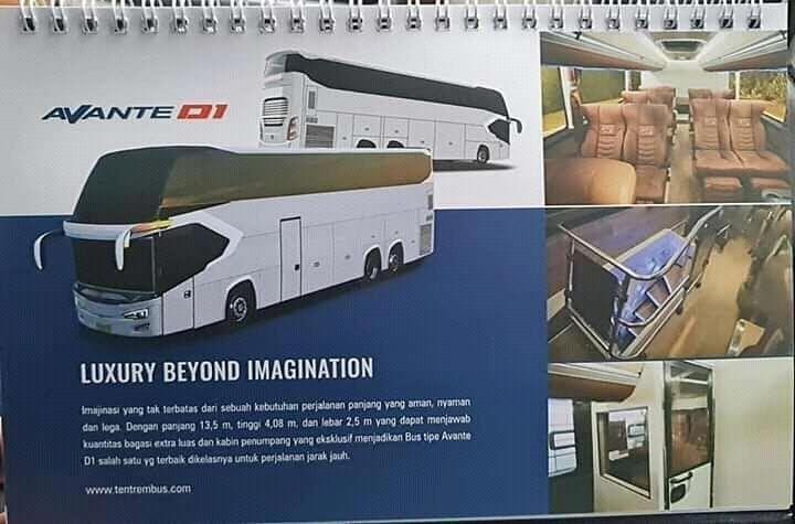 Inikah sleeper bus dan UHD Tentrem?