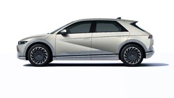 Muka Mobil Listrik Hyundai Ioniq Crossover