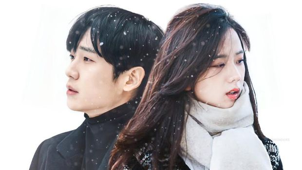 Jisoo BLACKPINK di Lokasi Syuting Snowdrop