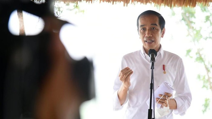 Jokowi Tinjau Lumbung Pangan di Sumba Tengah NTT