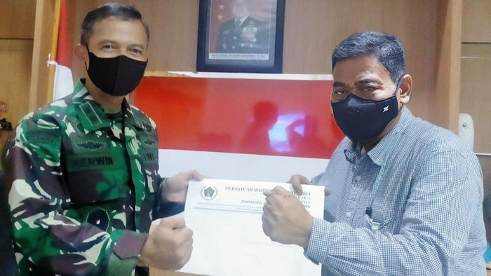 Kapendam Jaya Letnan Kolonel Arh Herwin BS