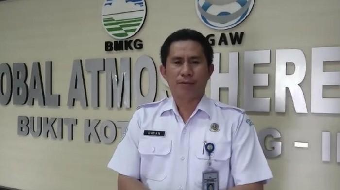 Kepala Badan Meteorologi, Klimatologi dan Geofisika (BMKG) Unit Observasi Global Atmosopheric Watch (GAW) Kototabang, Wan Dayantolis (Foto: Istimewa)