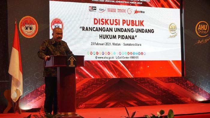 Kepala Badan Pembinaan Hukum Nasional (BPHN) Benny Rianto  Sumber Kemenkum Ham RI