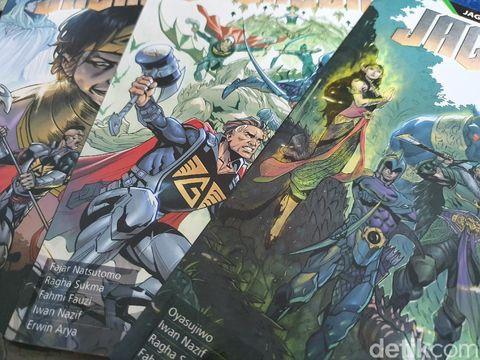 Komik Jagabumi Terbitan Bumilangit Comics