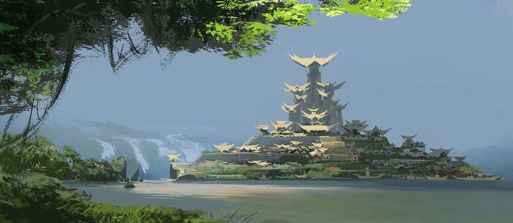 Kumandra, dunia fiksi di Raya and the Last Dragon