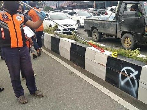 Lokasi kecelakaan di Samarinda (Suriyatman/detikcom)