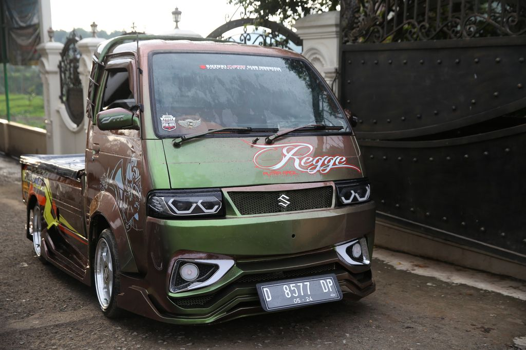 Modifikasi Suzuki Carry petani Bandung