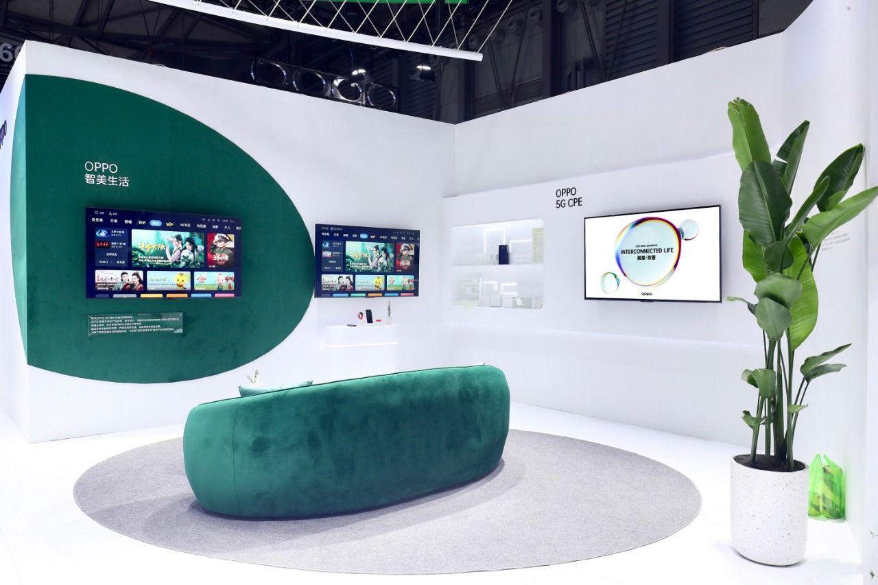 MWC Shanghai 2021 Oppo